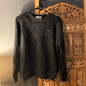 Beaded Alfred Dunner Sweater